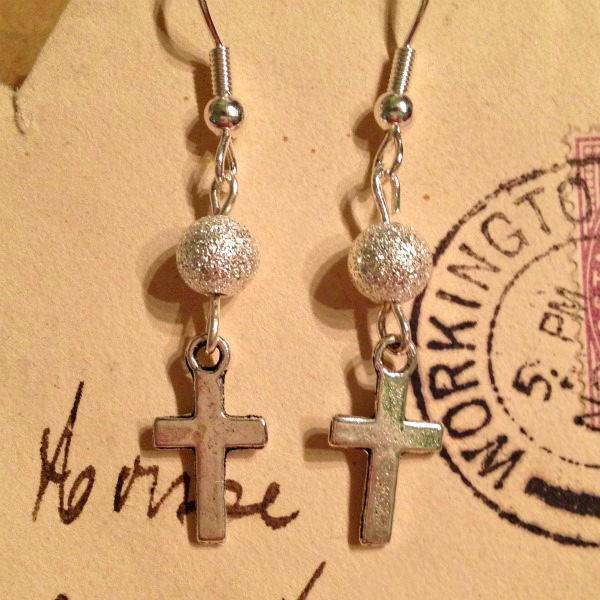 Charming Cross Earrings