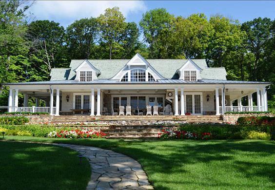 Contemporary Rustic Porch Design
