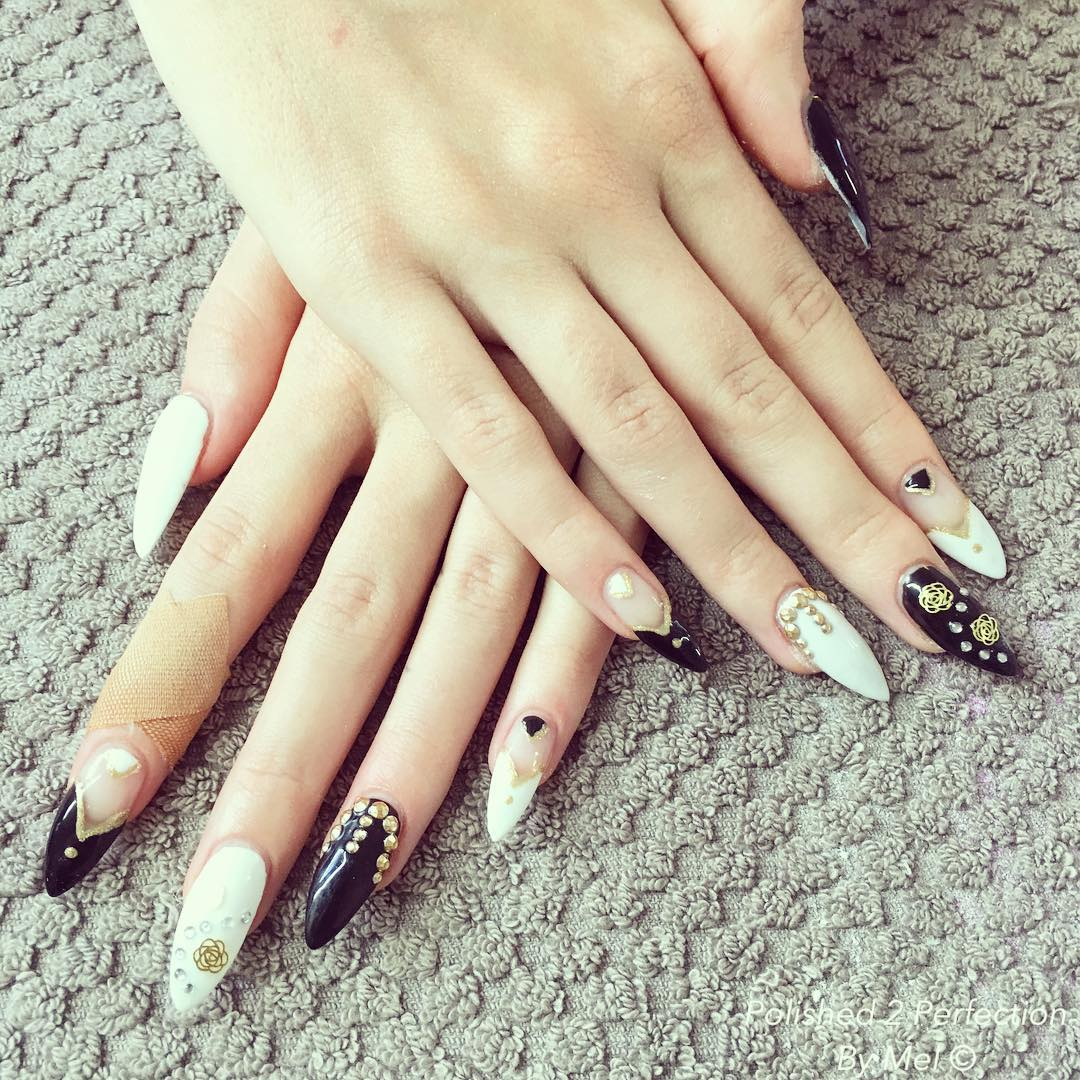 Attractive Claw Nail Design