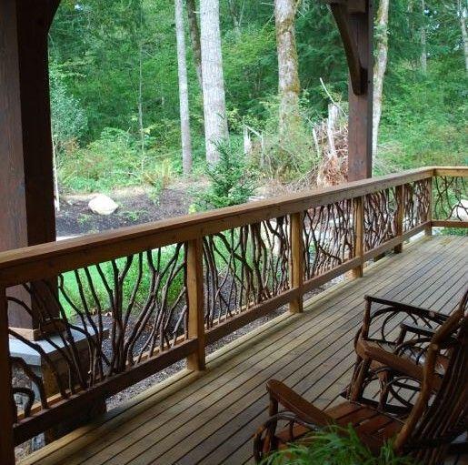 Simple Rustic Porch Design