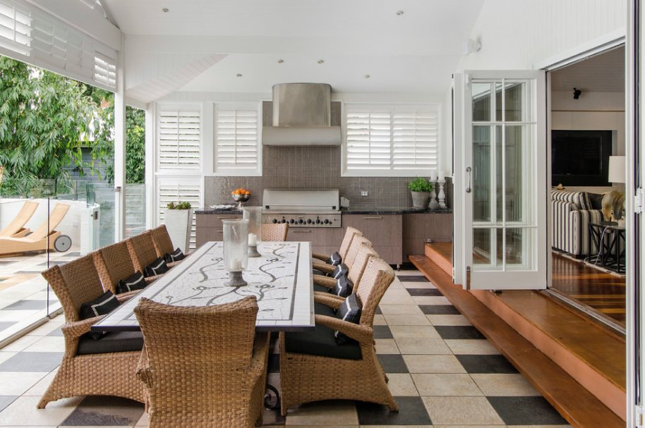 Modern Rustic Porch Design