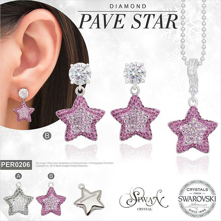 Sparkle Star Cute Earrings