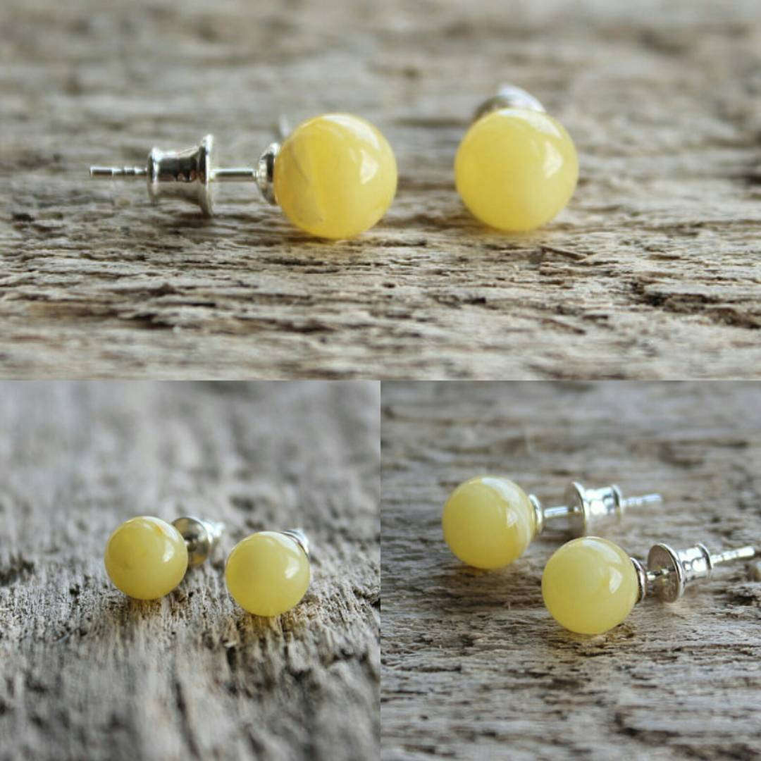 yellow Color Cute Earrings