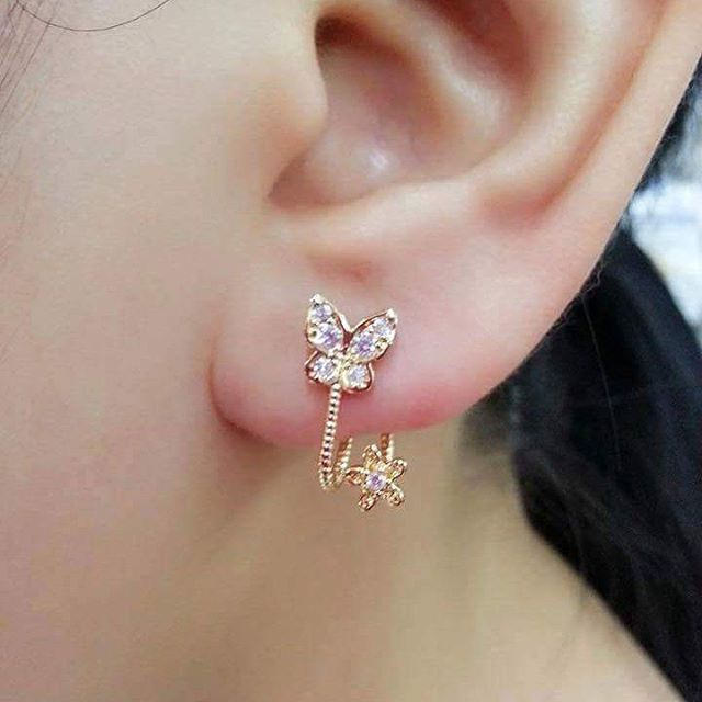 Butterfly Shape Cute Earrings
