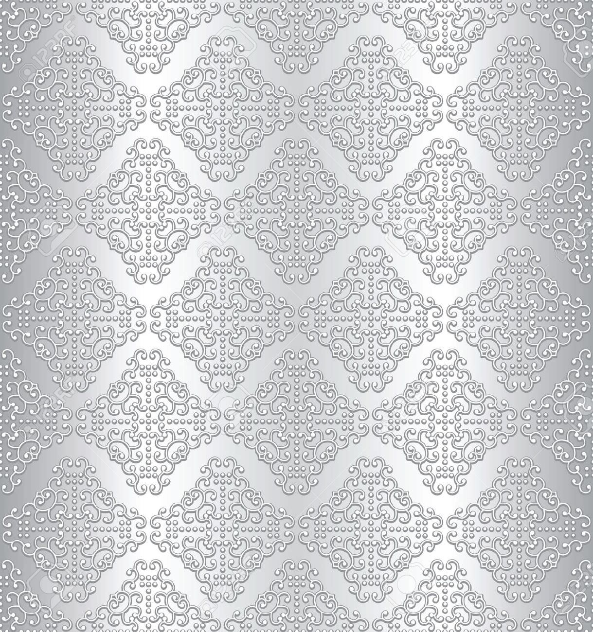 Seamless Silver Texture