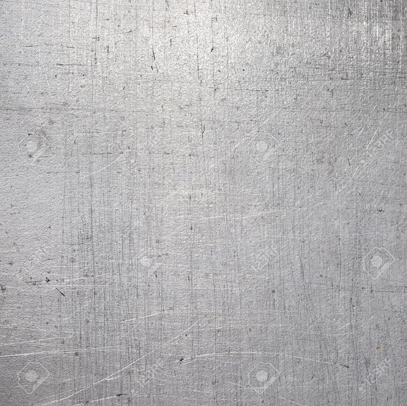 Scratched Silver Texture