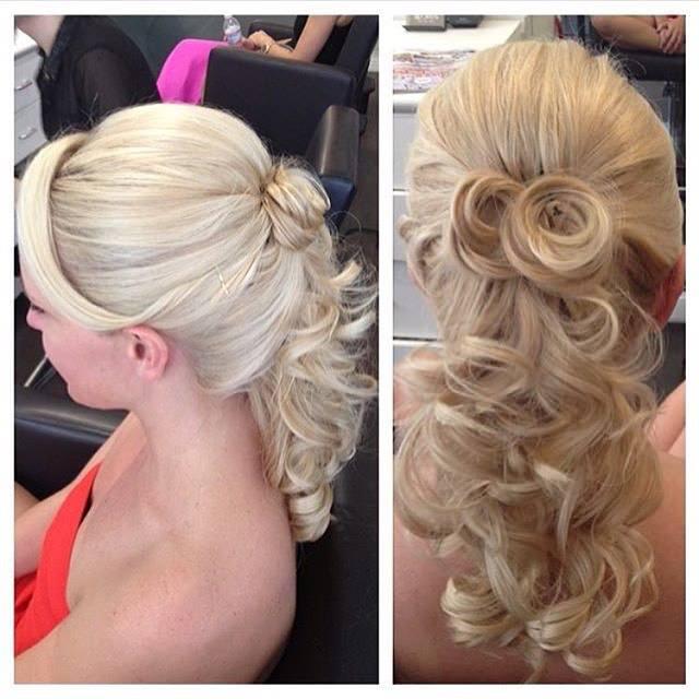 Nice Waterfall Hair Style