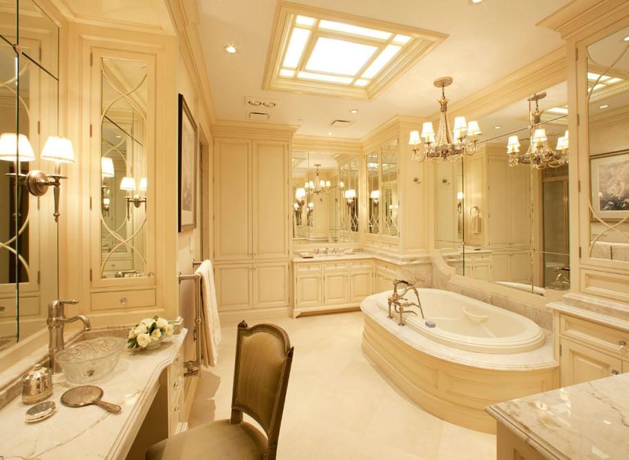 beautiful small master bathroom design