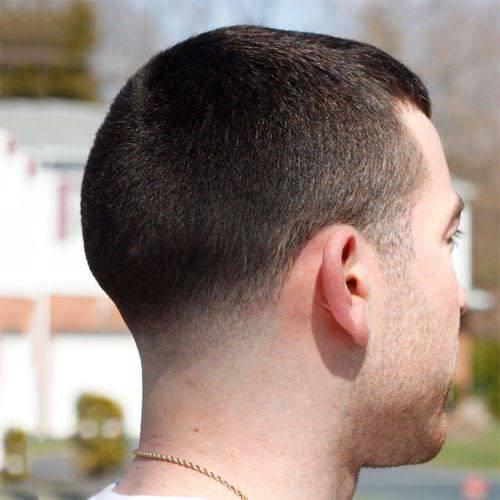 Low Fade Caesar Hair Style
