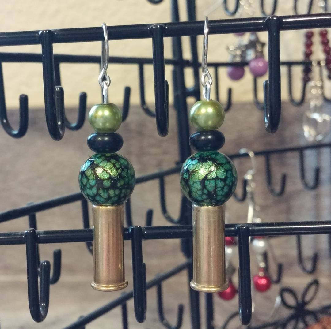 super cute bullet earrings