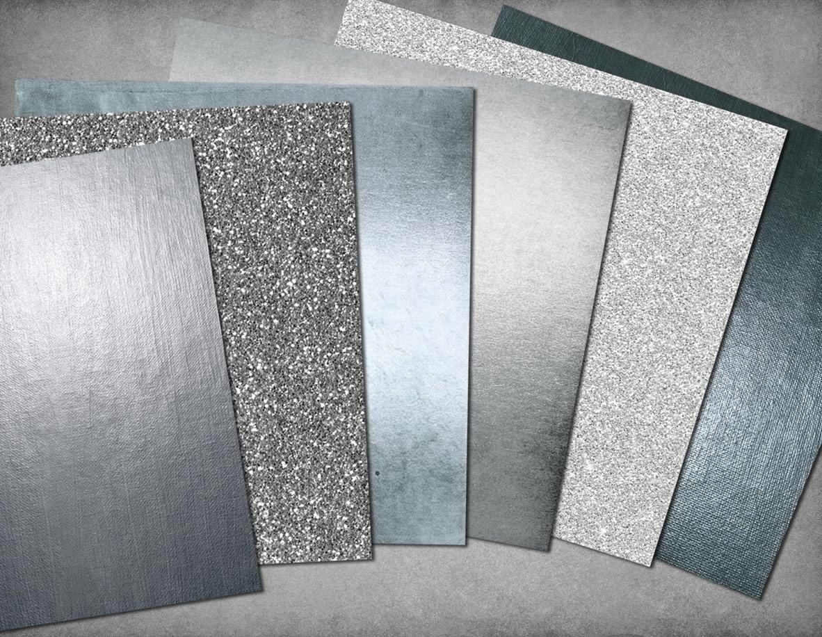 Silver Paper Textures