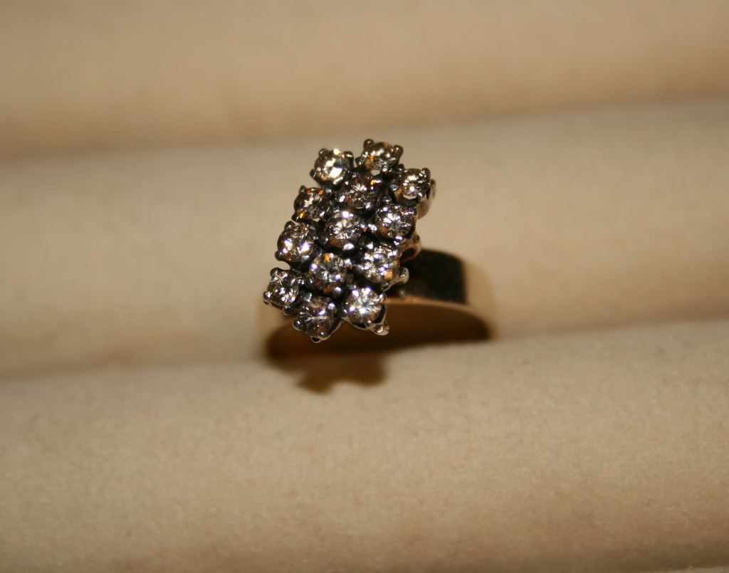 Angellic Multi Diamond Stone Anitque ring.jpg