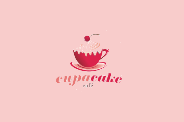 Cupacake Cafe Logo Design