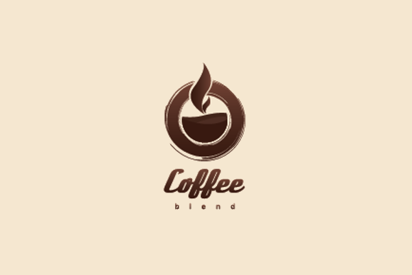 elegant cafe logo design