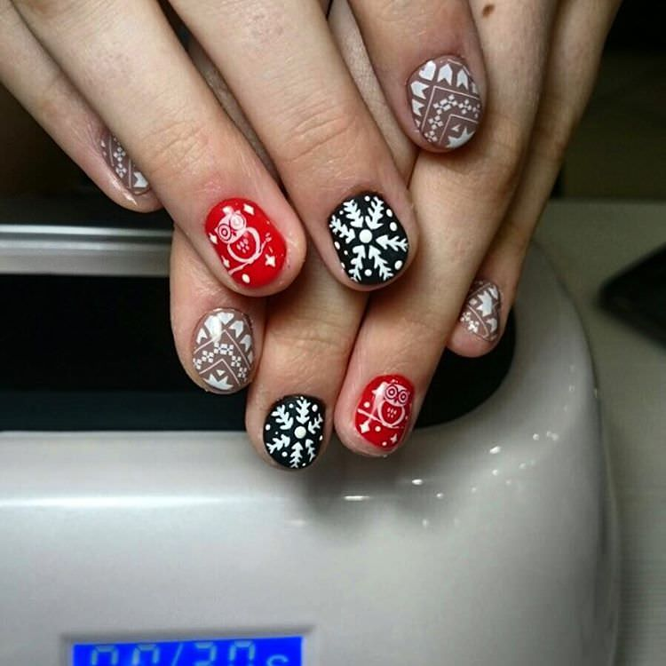 29+ Red and Black Nail Art Designs, Ideas | Design Trends - Premium ...