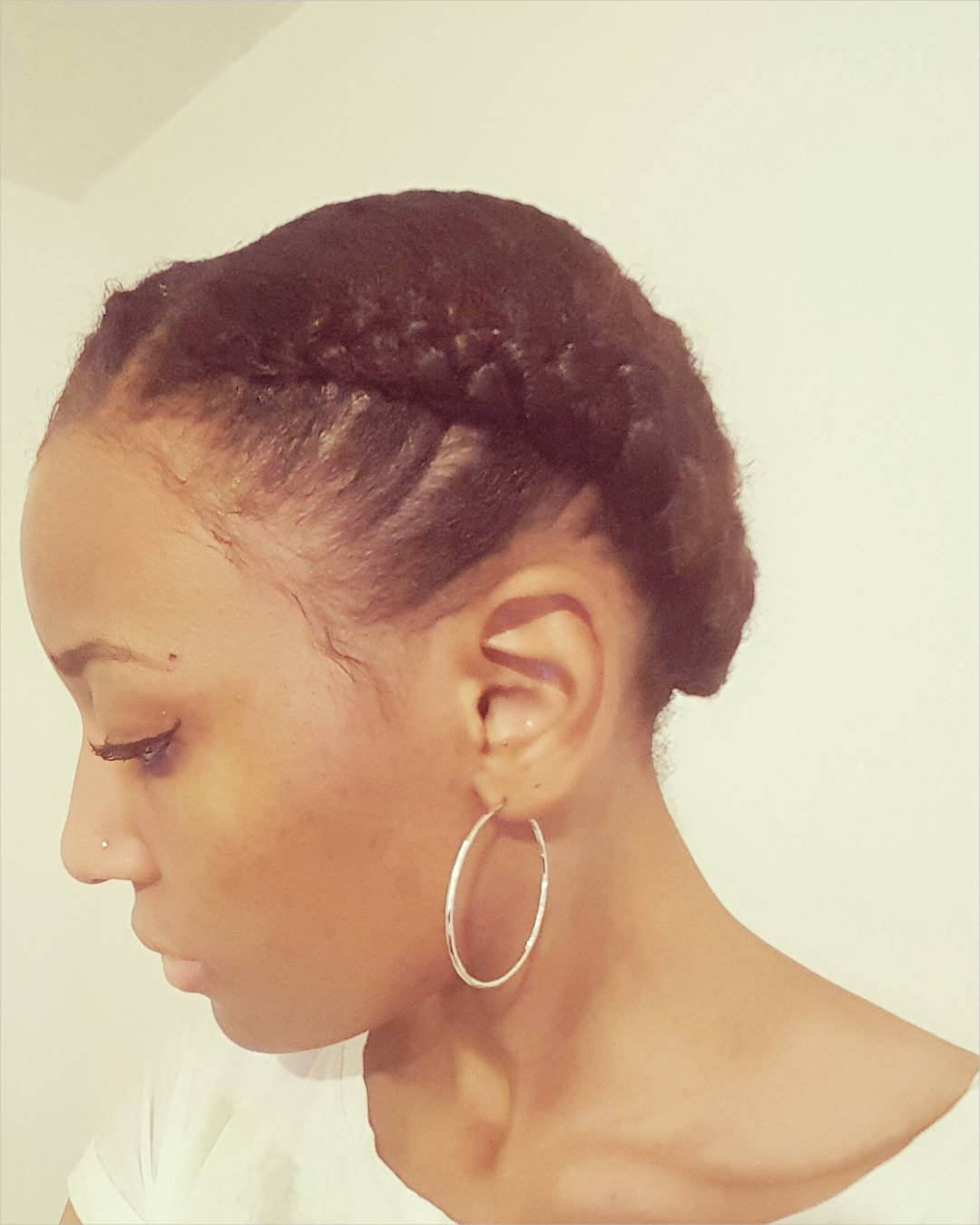 Natural Cornrow Hairstyle