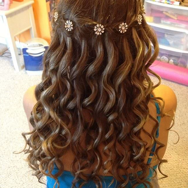 Creative Hair Style For Wedding
