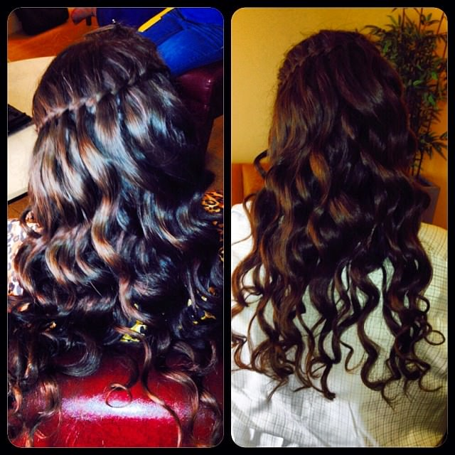 curly hair style1