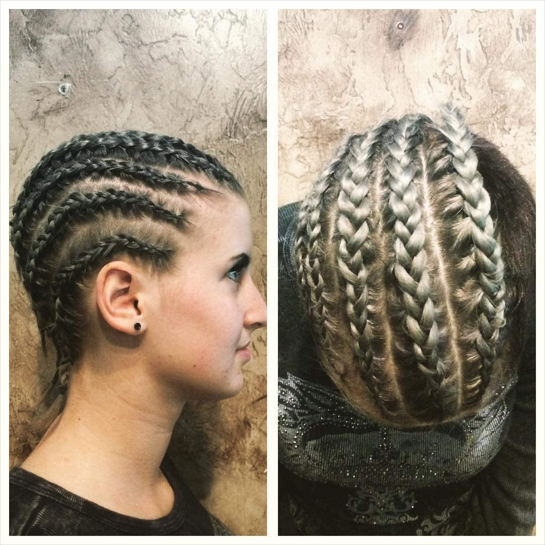 More Cornrows Hairstyle