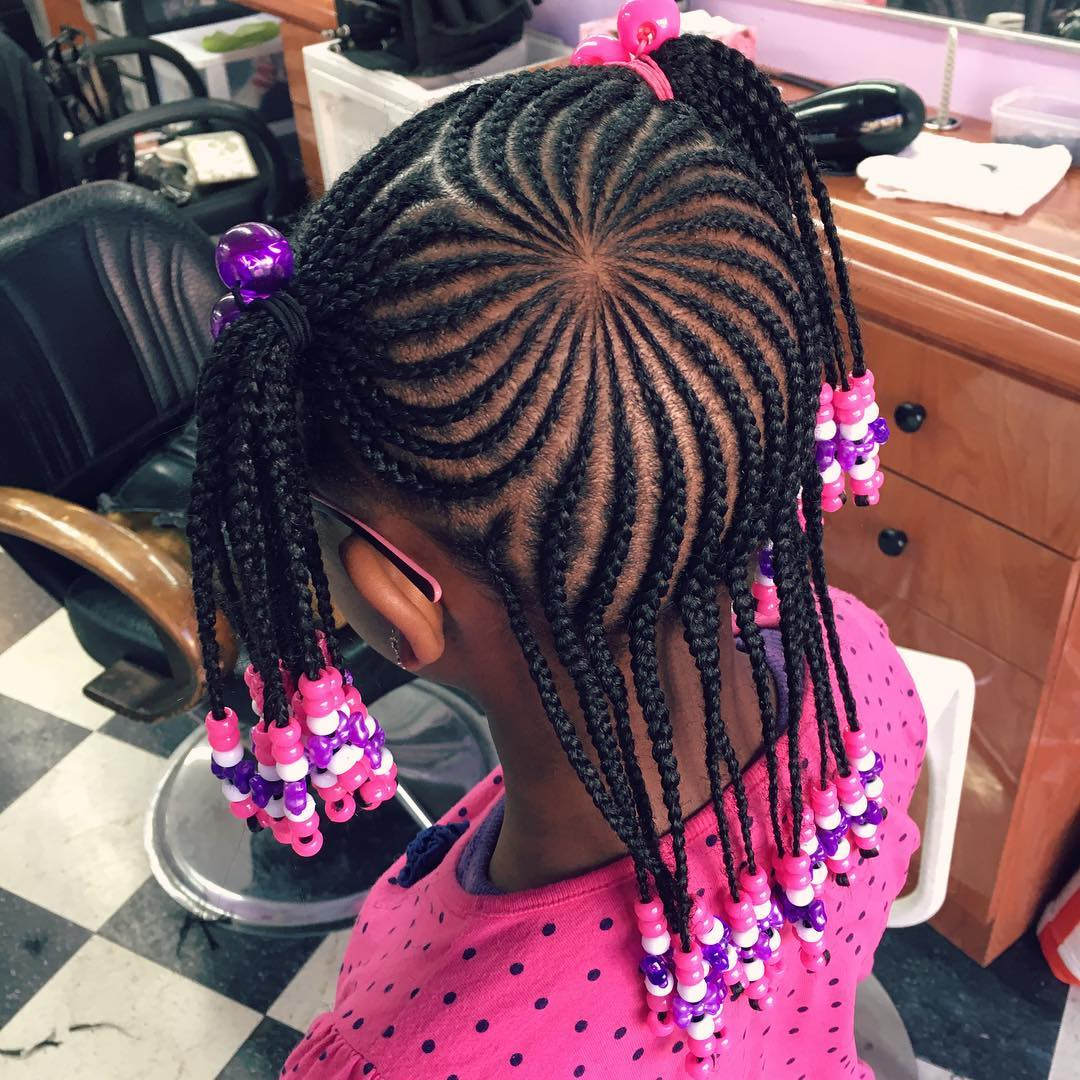 Astounding Cornrow Hairstyles With Extensions Hairstyle Pictures Short Hairstyles For Black Women Fulllsitofus