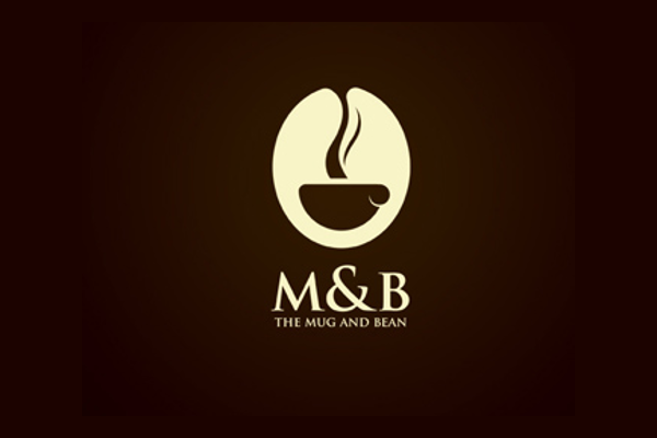 M&B Cafe Logo Design