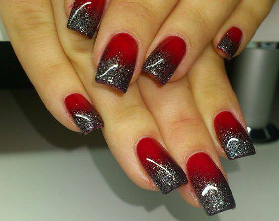 29 Red And Black Nail Art Designs Ideas Design Trends Premium Psd Vector Downloads