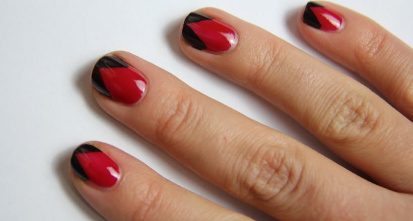 29 Red And Black Nail Art Designs Ideas Design Trends Premium