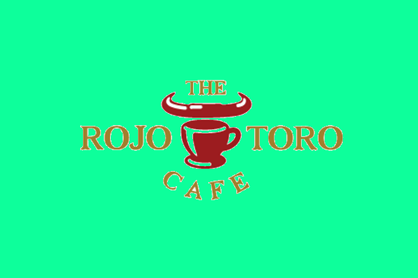 rojo cafe logo design