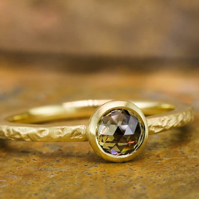 beautiful one stone ring