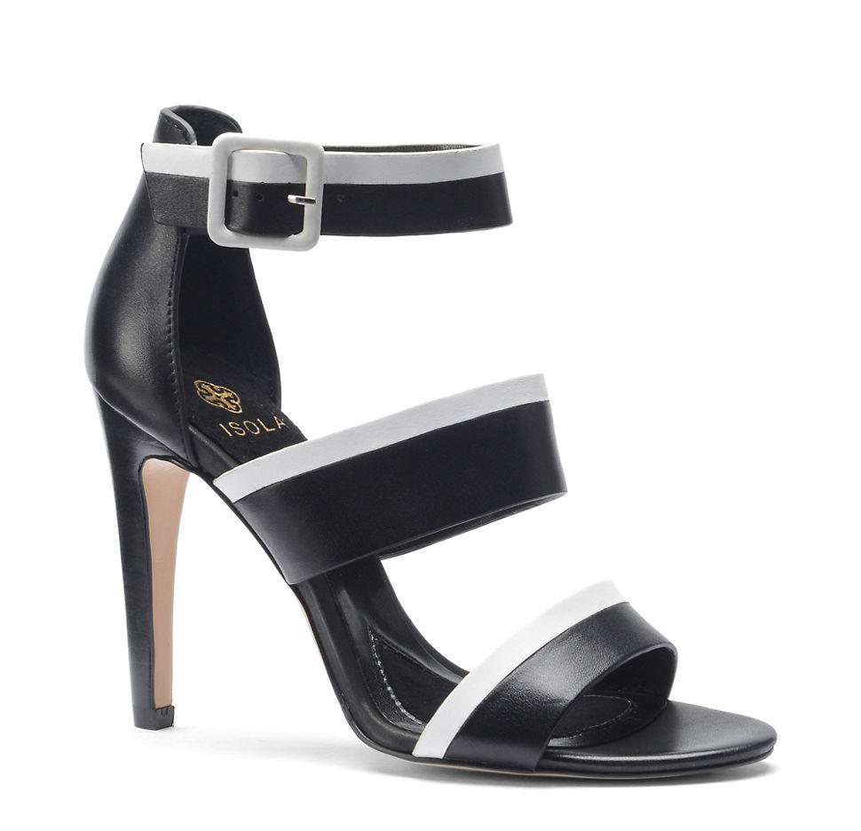 Brianna High Heel Leather Sandals
