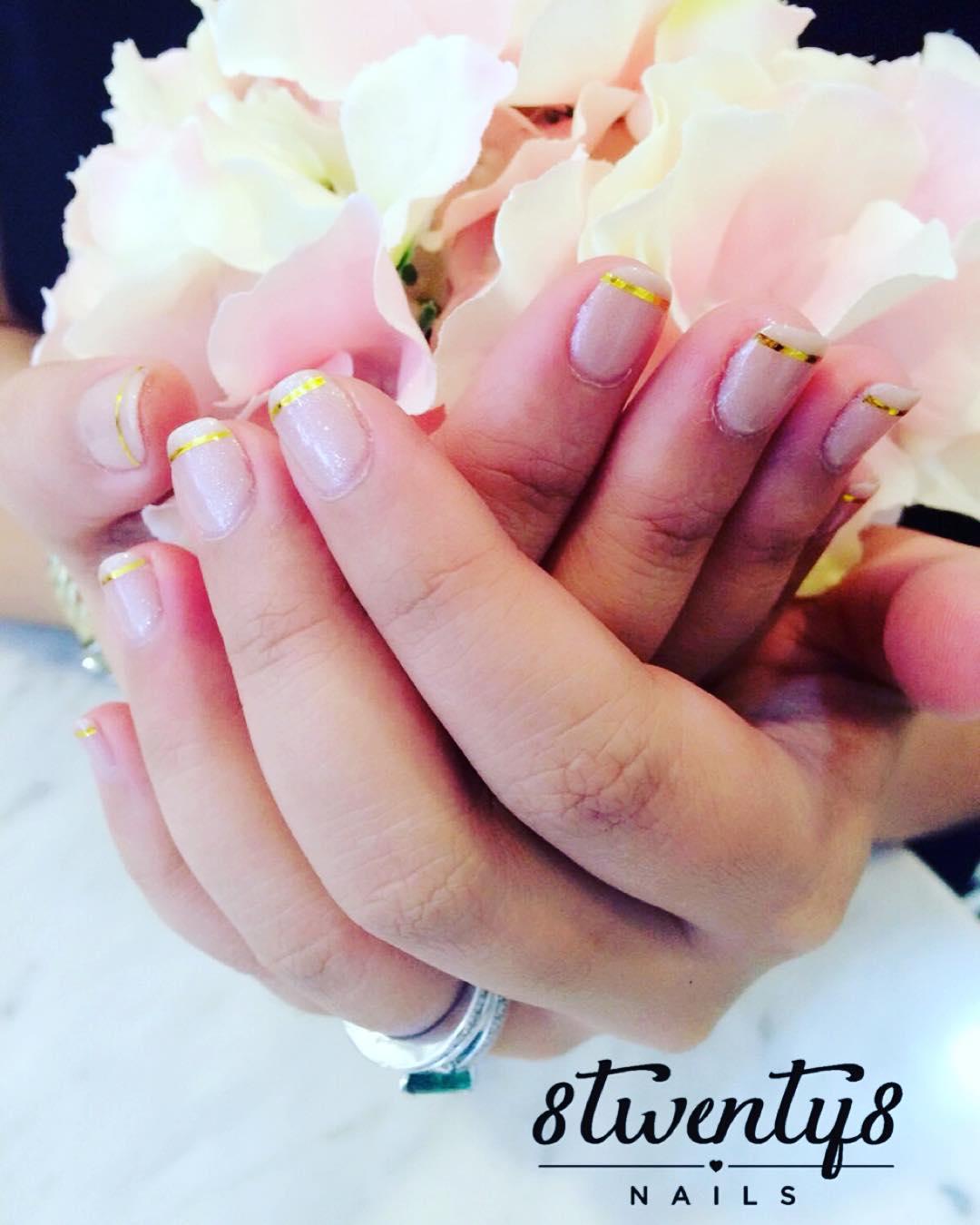 nice wedding nail design