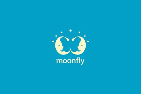 Moonfly Logo Design
