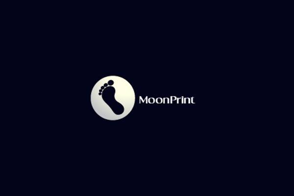 Moon Logo Design for Footwear