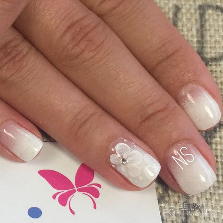 Attractive Wedding Nail Design - 27+ Wedding Nail Art Designs, Ideas Design Trends - Premium PSD