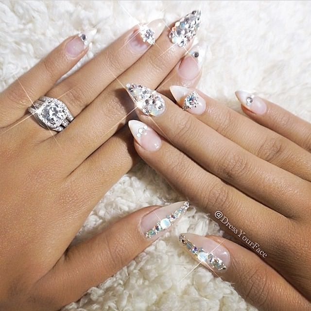 Wedding Nail Art Designs Gallery: 27+ Wedding Nail Art Designs, Ideas