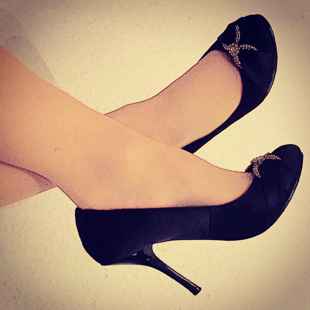 American Black Heels