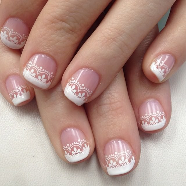 27 Wedding Nail Art Designs Ideas Design Trends Premium Psd
