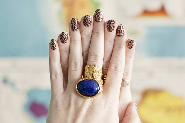 amazing nail wedding design