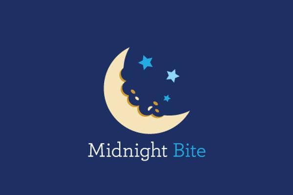 Moon Logo Design for Restaurant