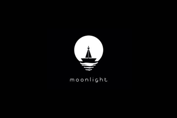 Moon Light Logo Design
