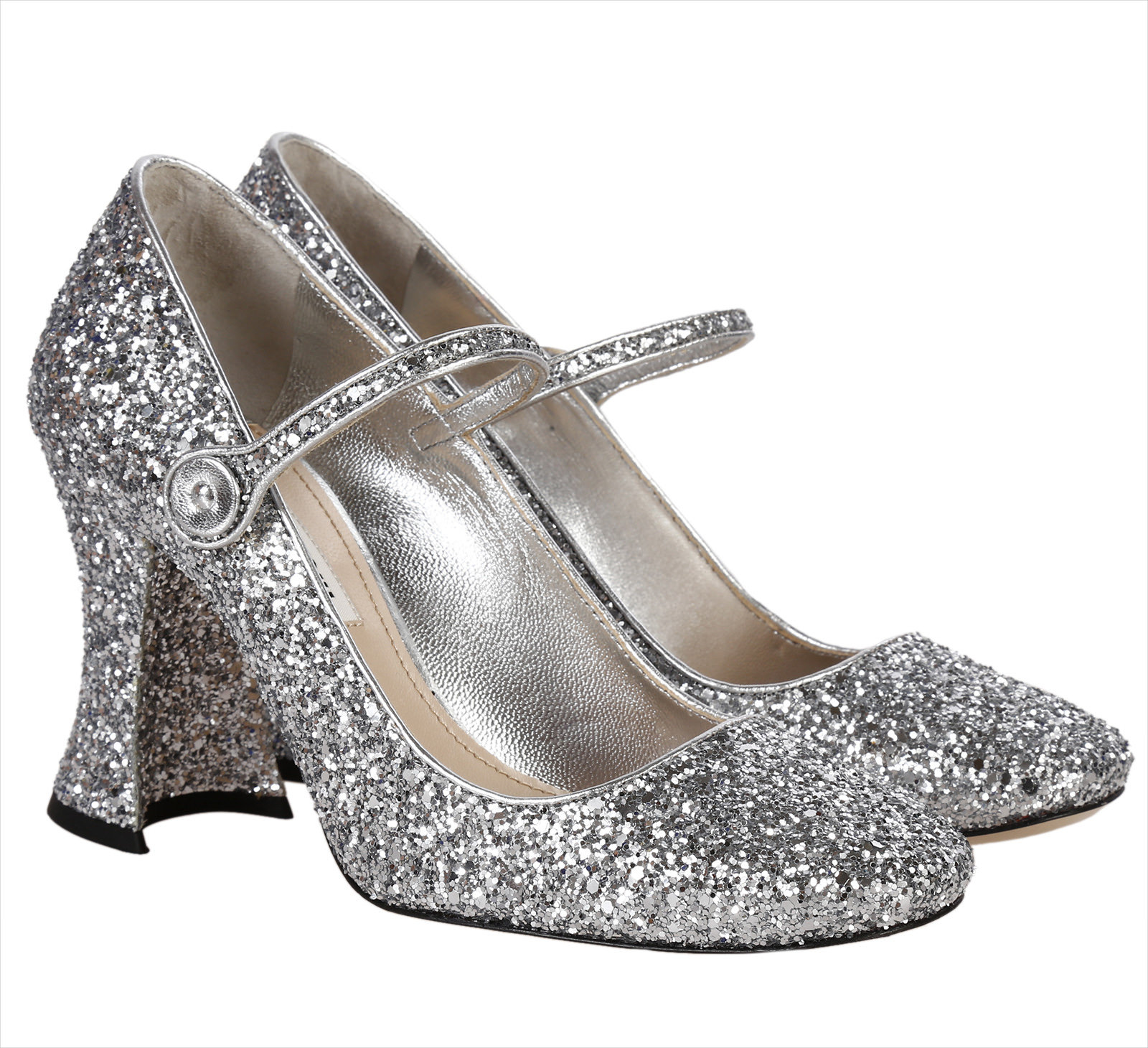 Fully Silver High Heel.