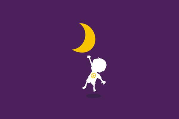 Moon Logo Design for Play School