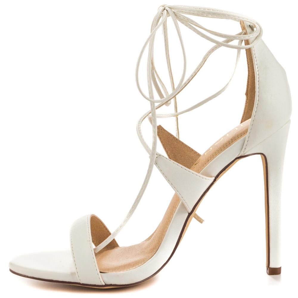 Flight White Heels