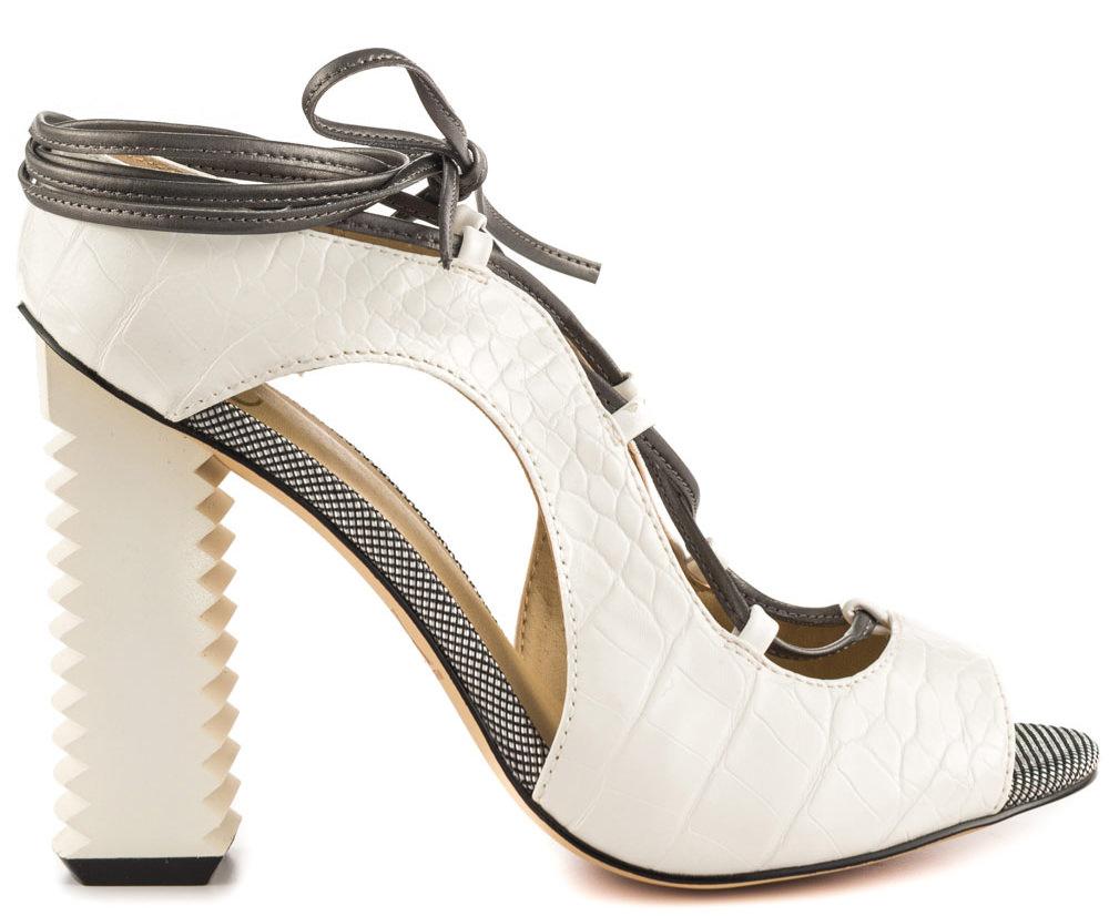 Malibu White High Heels