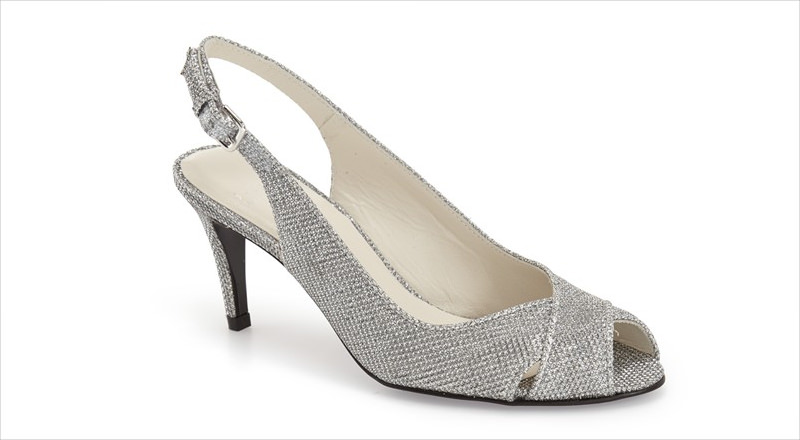 Awesome Silver High Heel.
