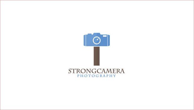 Strong Camera Logo Design