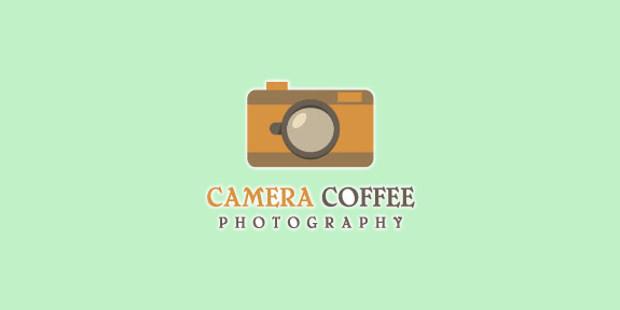 Camera coffee Logo Design