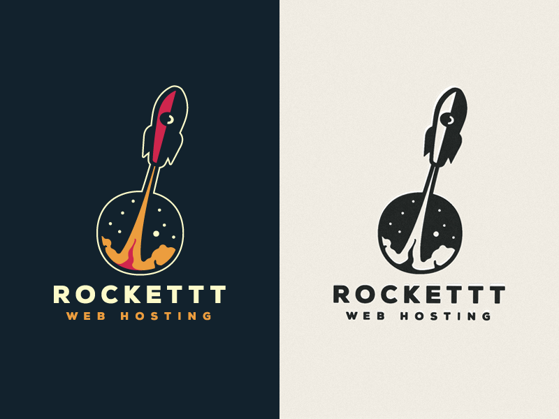 Rocket Logo for Branding