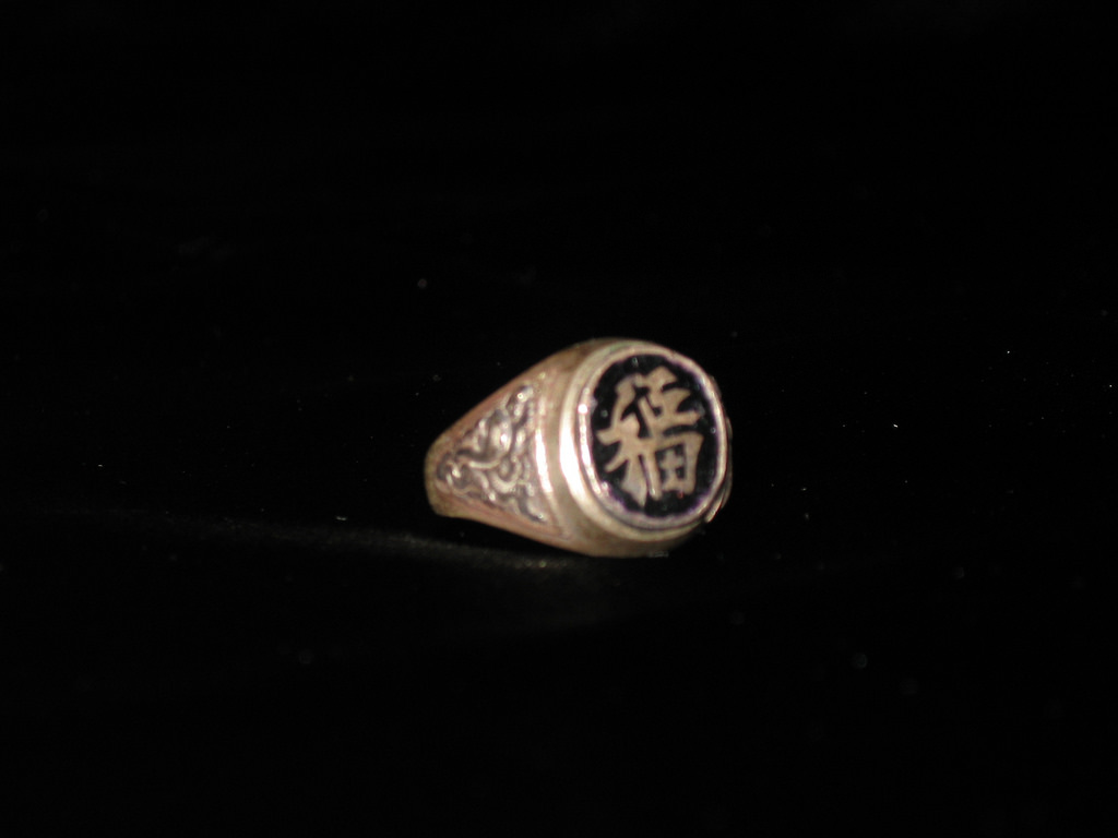 Vintage Creppy Vitenam War Ring