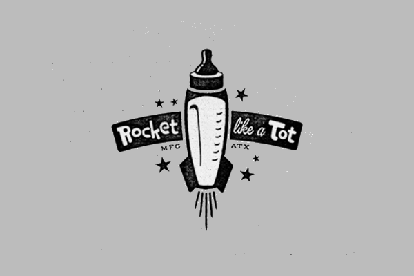 Rocket Logo for Kids Store